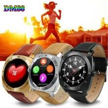 Dm88 wearable dispositivos bluetooth a prueba de agua smart watch smartwatch con monitor de ritmo cardíaco mp3 player para ios android teléfonos # b1