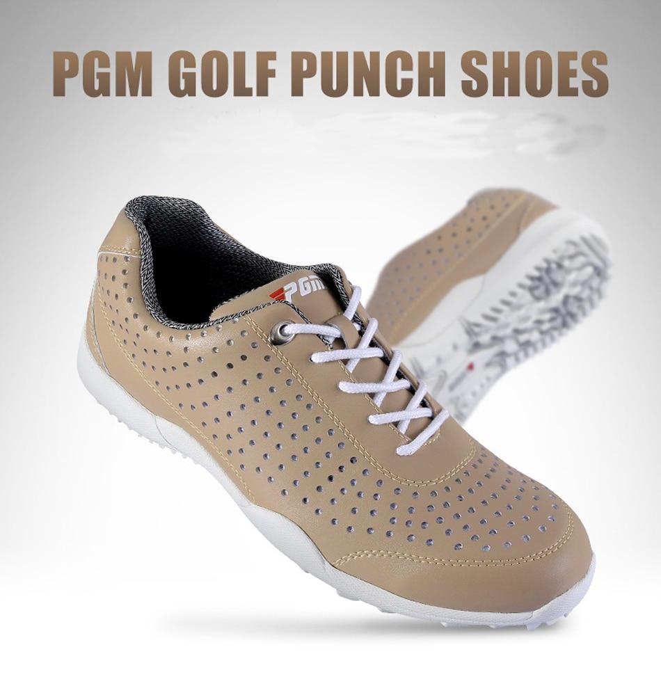 e2a2402993 Alta calidad PGM Golf zapatos de Golf de los hombres zapatilla impermeable  transpirable zapatillas para hombres Proffessional Golf Trainer zapatillas  en ...