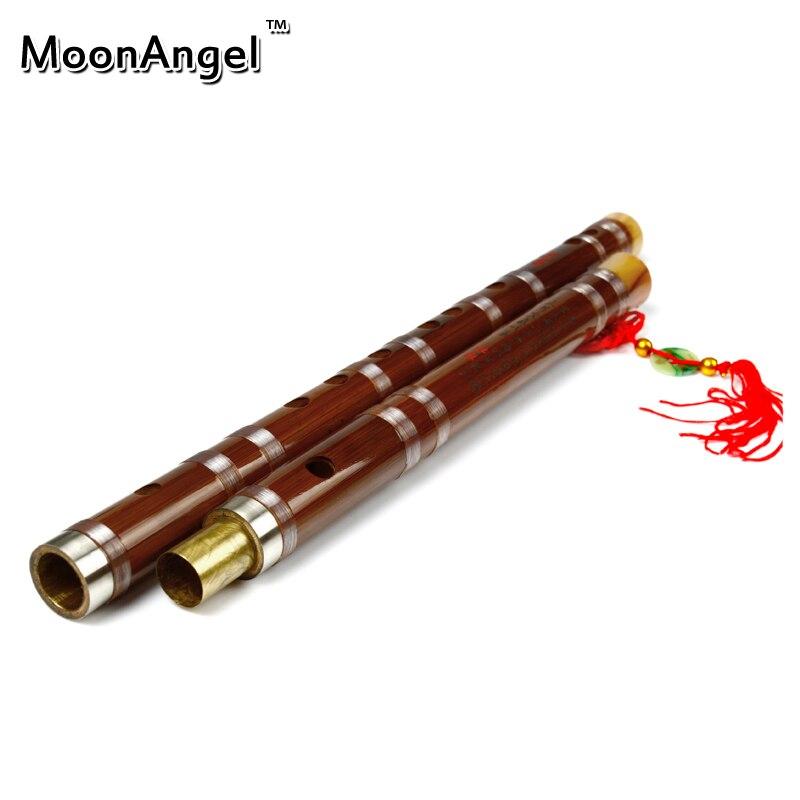 China Instrumento Musical Flauta De Bambú dizi En clave CDEFG Tradicional hecha
