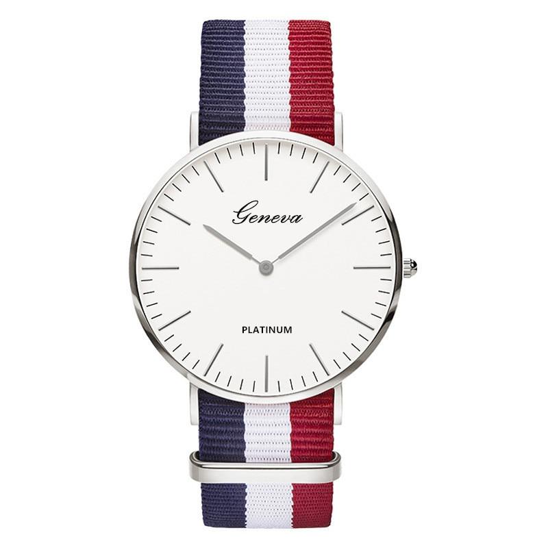 Women's Watches Top Brand Nylon Strap Style Quartz Clock Ladies Watch Fashion Casual Wrist Watch Saats Reloj Hot Reloj Muje