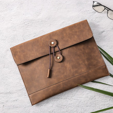 work bag Envelope book Clutch Bag A4 Data file office bags for men mannen werktas portafolio briefcase PU leather thin Package