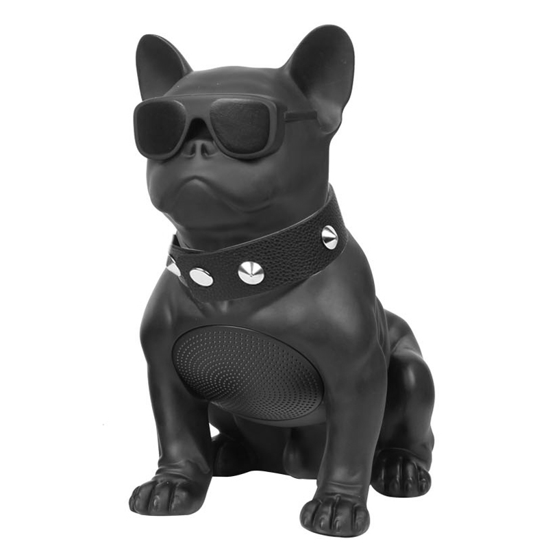 Wireless Bluetooth Speaker Mini Bulldog Speaker Subwoofer Multipurpose Computer PC Speaker TF MP3 Player Hot Dog Portable Whole