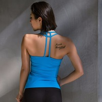 Summer Sexy Tank Top Women Fitness Vest Quick Dry Breathable Sleeveless Shirts High Elastic Regata Feminina