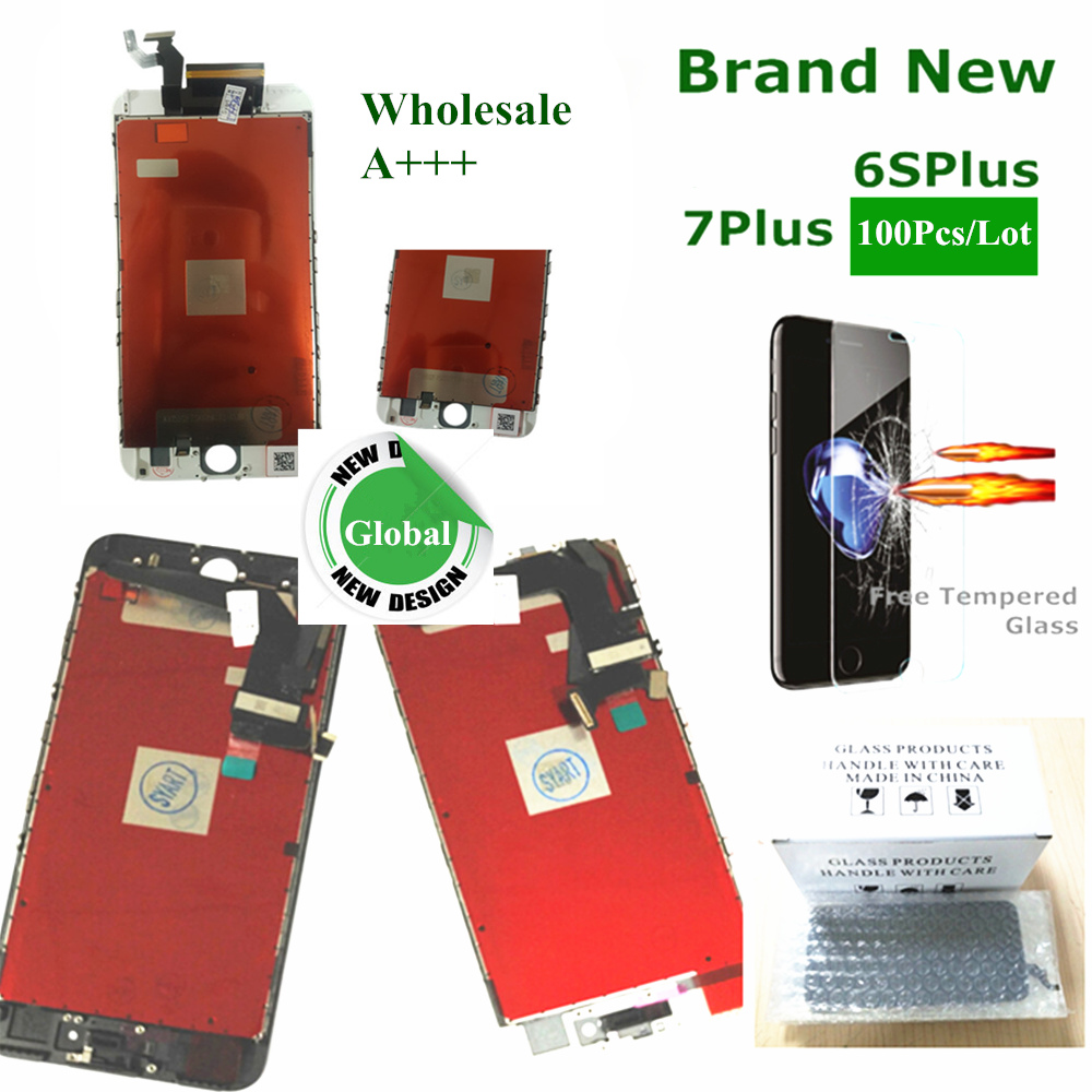 Lcd-Screen Lcd-Display IPhone Digitizer Assembly Replacement 7plus For With 3D High-Quality
