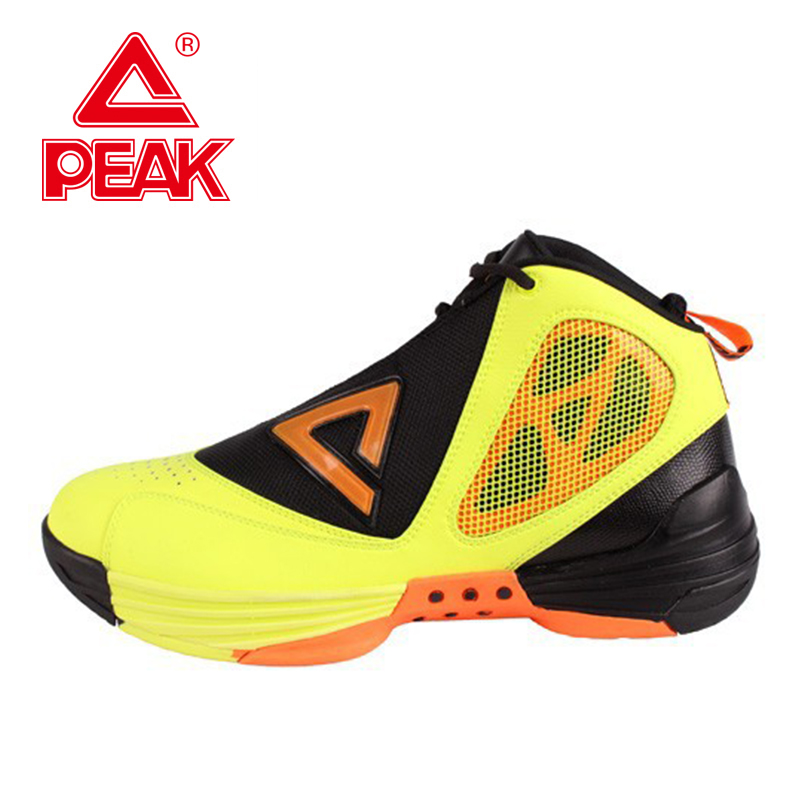 PEAK SPORT Monster 1.2 Men Basketball Shoes FOOTHOLD Cushion-3 Tech Training Boots Competitions Athletic Sneakers Size EUR 40-49 peak sport monster ii men basketball shoes foothold tech sneakers breathable training athletic durable rubber outsole boots