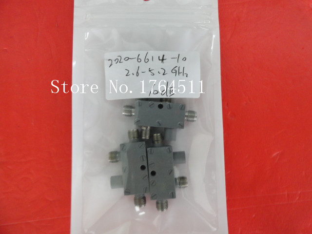 [BELLA] M/A-COM 2020-6614-10 2.6-5.2GHz 10dB Directional Coupler SMA