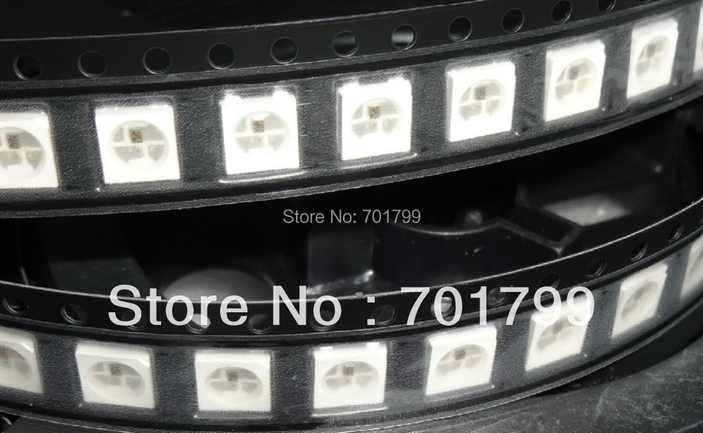 1000pcs WS2812B 4pin 5050 SMD RGB LED with built in WS2811 IC inside
