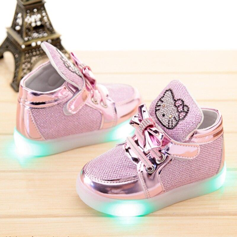 b34d41c4ad Crianças sapatos 2016 de tênis meninas sapatos de crianças running ...