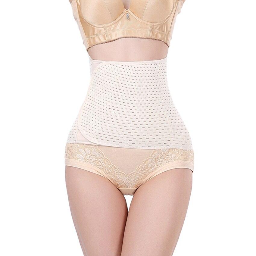 Womens high waist slim corset body shapers waist cincher waist trainer corsets fat burning Lingerie reduce weight shapewear
