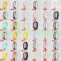 Miband2 смарт браслет замена ремешок Мягкая удобная красивая Mi Band2 Силиконовые Ремень Пояс Браслет Замена Группа
