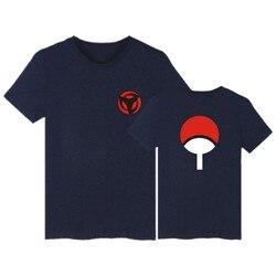LUCKYFRIDAYF Naruto T koszula mężczyzna hokage ninjia koszulka z krótkim rękawem bawełna Uchiha Syaringan Tshirt śmieszne Anime moda niestandardowe 4