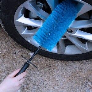 Car Rim Cleaning Brush Plastic