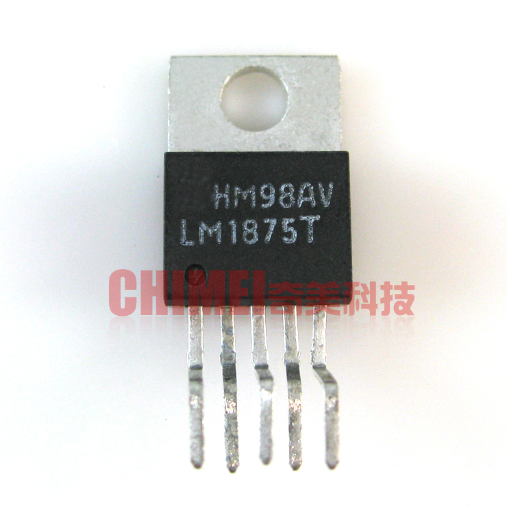 1pcs <font><b>LM1875T</b></font> <font><b>TO220</b></font>-5 LM1875 <font><b>TO220</b></font> 20W Audio power amplifier IC Integrated circuit image