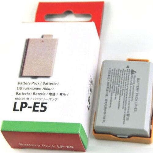 LP-E5 LPe5 Camera Batterij Voor Canon Eos 450D 500D 1000D Kus X2 X3 F Rebel Xs Xsi T1i