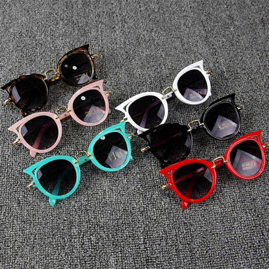 UV 400 Flexible Fashion Boys Girls Kids Children Polarized Sunglasses Safety Protection