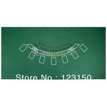 Водостойкий черный Джек зеленый стол войлок для дома веселье казино ден человек аксессуары для аквариума