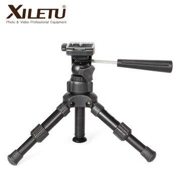XILETU XB-2 Mini Tabletop Tripod Flexible Portable For DSLR Nikon Digital Camera with Three Dimensional Panoramic Tripod Head 1