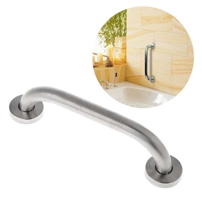 High Quality Stainless Steel Bathroom Shower Support Wall Grab Bar Safety Handle Towels Rail 20cm