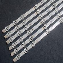 Tira de LED para iluminación trasera de repuesto para VESTEL 32D1334DB, VES315WNDL 01, VES315WNDS 2D R02, 11 LEDs, 574mm, 10 uds. x 32 pulgadas