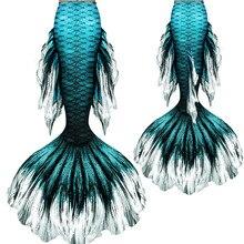 Nuovo Costume Swimable Sirena Code senza Monofin per il Nuoto Sirena Cosplay Costume Da Spiaggia Artefatto