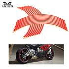 17inch/18inch wheel Strips Motorcycle Reflective Wheel Sticker for honda CB 599 919 400 CB600 HORNET CBR 600 F2 F3 F4 F4i 900RR