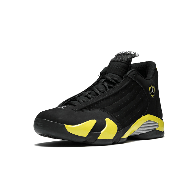 Original Authentic NIKE Air Jordan 14 Retro Men's Basketball Shoes Sport Outdoor Sneakers Medium Cut Lace-Up Good Quality 487471 72