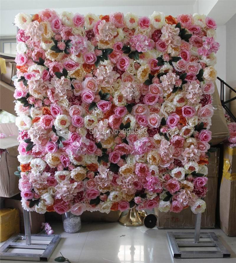 Spr Высокое качество 10 шт/Лот свадебный цветок этапа стены фон декоративные оптовая продажа искусственных цветов Таблица Центральным
