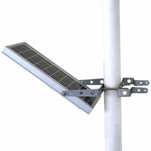 Image 2 - HEX 780X Warm White All in One Waterproof Day/Night Sensor 3 Power modes Solar Powered LED Street Light Solar Outdoor Light