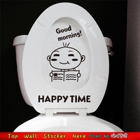 Reading Paper Toilet Stickers For Bathroom Decoration Washroom Decor Home Decals Wallpaper Mural Art Posters Room Decor