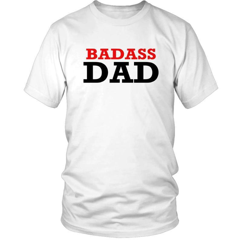 36a11b19 New Men Summer Style Short Sleeve Tee Badass Dad T Shirt Fathers Day Gift  Present Daddy New Christmas Xmas Gift 3D T Shirt-in T-Shirts from Men's  Clothing ...