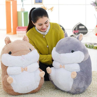 38cm Big Fat Hamster Plush Soft Toys Doll Stuffed Birthday Xmas Gifts