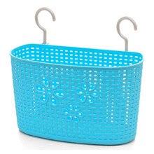 Nueva Multifunción baño ducha cocina guante de plástico colgante de la rota cesta De Almacenamiento canasta de almacenamiento de residuos de cocina organizador