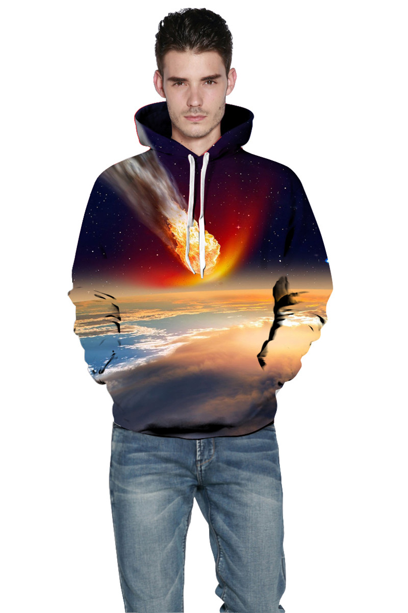 3D Print Hoodies for Men WomenTops Couples Casual Style Personality Autumn Winter Sweatshirts Mixed Hoody Tracksuits Tops