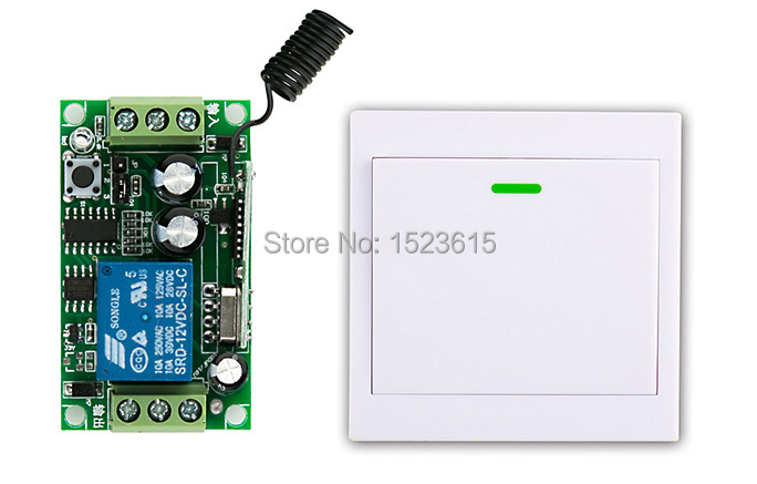 все цены на  New digital Remote Control Switch DC12V Receiver Wall Transmitter Wireless Power Switch 315MHZ Radio Controlled Switch Relay  онлайн