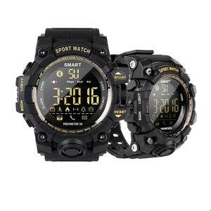 Image 4 - EX16S Smart Watch Camouflage Camo Sport Watch Men Running Step Passometer Sleep Monitor Call Reminder Stopwatch Waterproof Watch
