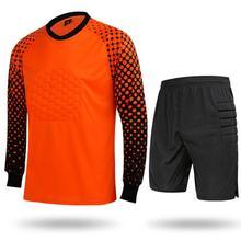 Tracksuit Soccer-Goalkeeper-Suits EU Sportswear Football Training Adult Long-Sleeved