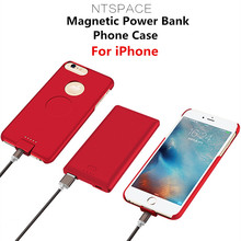 5000mAh Portable Power Bank Charger Cover For iPhone X 8 7 6s Plus 4000mAh External Battery Case For iPhone 8 7 6 6S Power Case lson portable 4000mah solar power bank for iphone ipad golden black