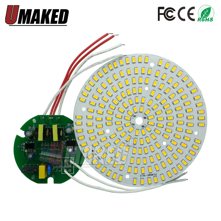100W Led Lighting Source For Industrial And Mining Lamp Workshop, Warehouse Chandelier 100w Led Pcb Board+driver