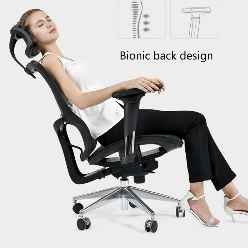 creative ergonomics offi chair lifted rotated leisure swivel chair