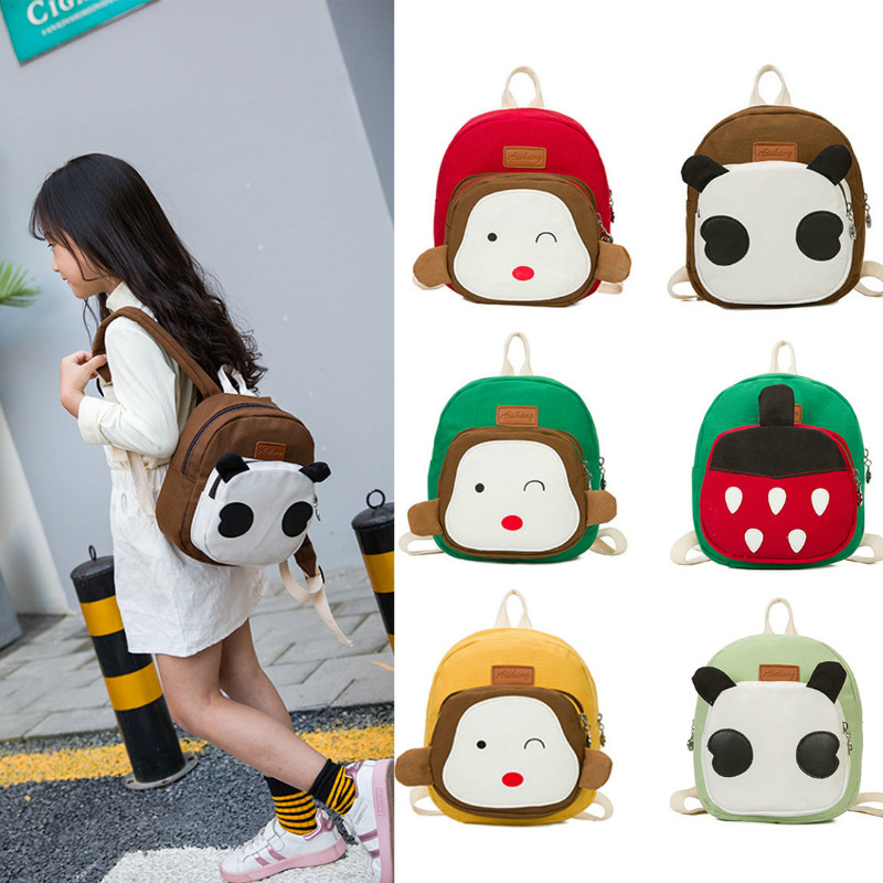 Cute Animal Cartoon Children Backpack Kid Baby Boy Girls Schoolbag Rucksack Kindergarten Bags(China)