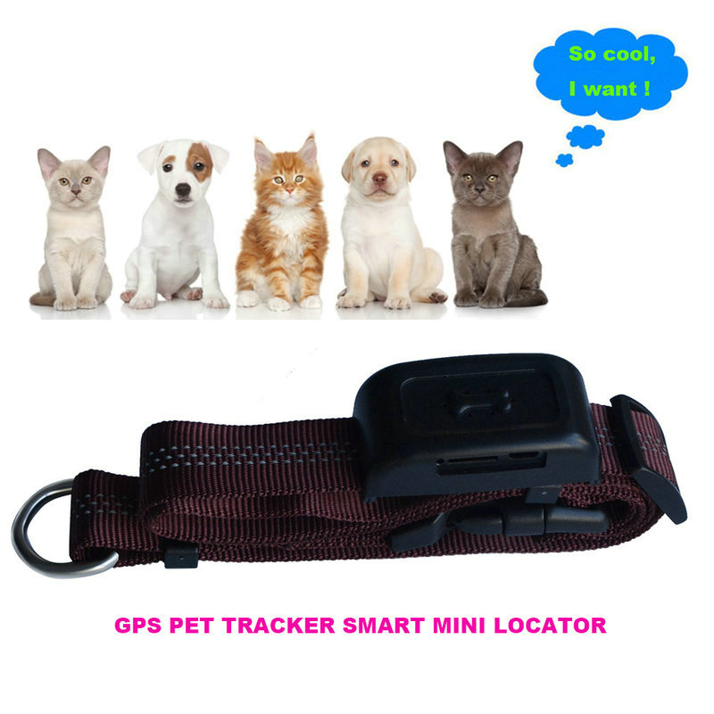 H01 mini pet gps tracker necklace gps,pets tracker long stanby time for pet trac