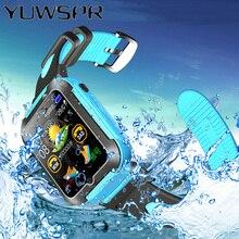 ילדי GPS tracker מיקום שעון עמיד למים ניטור מצלמה חכם ילדים שעונים מגע מסך iOS אנדרואיד תינוק יד E7K