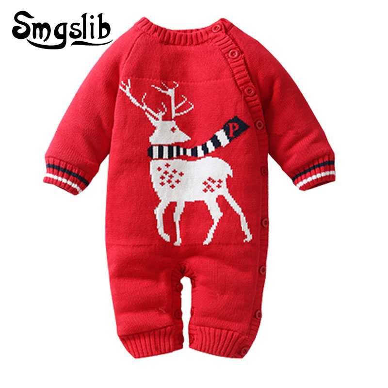 85f89e1e5 6 to 18 months winter baby romper Cotton Padded Thick Warm jumpsuit ...