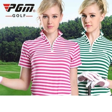 Brand PGM. Ladies Golf Sexy T-Shirts Women Long-sleeve Sexy Sports Apparel Women Workout Polo Shirt Fitness Gym Sport Dri-Fit