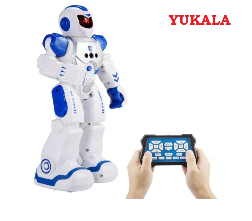 купить Remote Control Intelligent Robot Gesture Sensing Programming Charging Children Dancing Robot Fighting Defentor Boys Gift Toys недорого