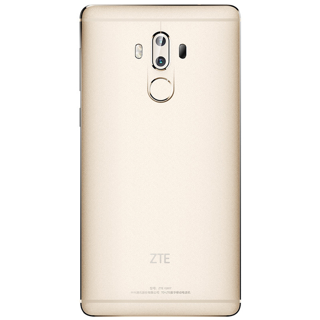 Original ZTE Axon 7 Max 6.0 Inch Mobile Phone Snapdragon 625 Octa Core 4GB RAM 64GB ROM Dual 13.0MP Rear Camera 4100mAh Battery