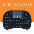 США макет Английский Язык Мини-Клавиатура 2.4 Г Беспроводная Мини-Клавиатура i8 Touchpad Мышь Комбинированные Для Тв box планшетных мини-пк ps3