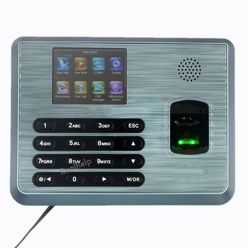 Biometric Fingerprint Time Attendance Attendance Time Clock Employee Biometric USBRS232/485 ZKTeco realand attendance machine стоимость