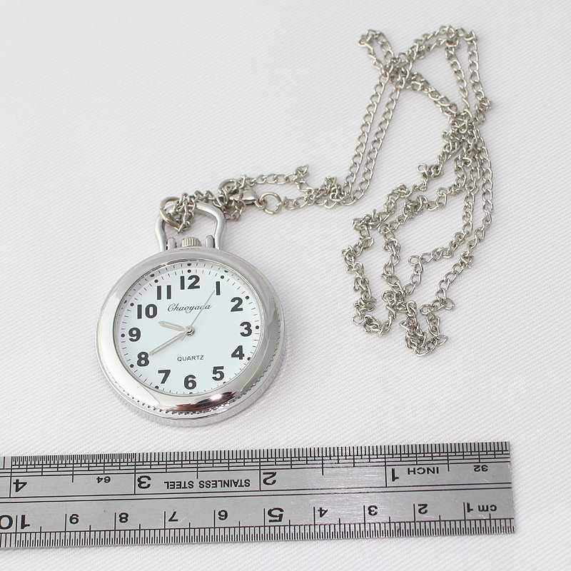 แบรนด์แฟชั่นนาฬิการอบหญิงควอตซ์สร้อยคอนาฬิกาพ็อกเก็ตนาฬิกาจี้ของขวัญ Simple นาฬิกา GL54