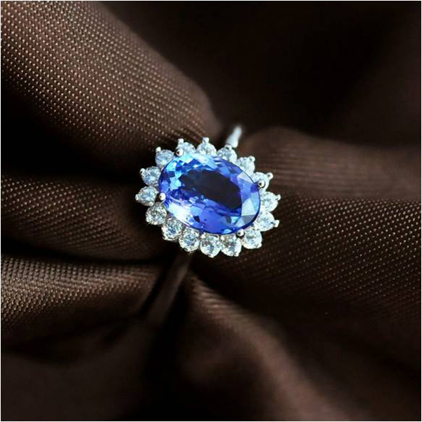 2017 Rushed Qi Xuan_Fashion Jewelry_Blue Stone Elegant Rings_S925 Solid Silver Woman Blue Stone Rings_Factory Directly Sales2017 Rushed Qi Xuan_Fashion Jewelry_Blue Stone Elegant Rings_S925 Solid Silver Woman Blue Stone Rings_Factory Directly Sales